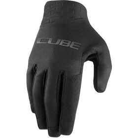 Cube Performance Long Finger Gloves, black